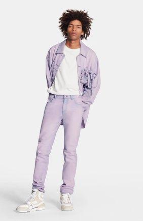 Мужские джинсы LOUIS VUITTON розового цвета, арт. 1A7QJJ | Фото 2