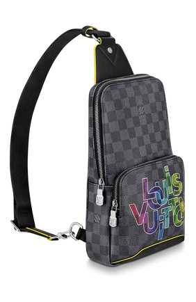 Мужской сумка-слинг avenue LOUIS VUITTON серого цвета, арт. N40273 | Фото 2