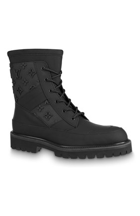 Мужские кожаные ботинки landscape LOUIS VUITTON черного цвета, арт. 1A7P83 | Фото 1