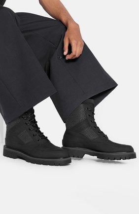 Мужские кожаные ботинки landscape LOUIS VUITTON черного цвета, арт. 1A7P83 | Фото 2