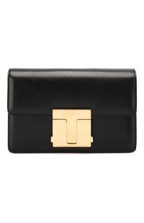 Женская сумка TOM FORD черного цвета, арт. L1262T-LG0009   Фото 1