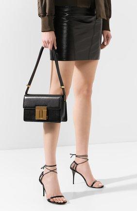 Женская сумка TOM FORD черного цвета, арт. L1262T-LG0009   Фото 2