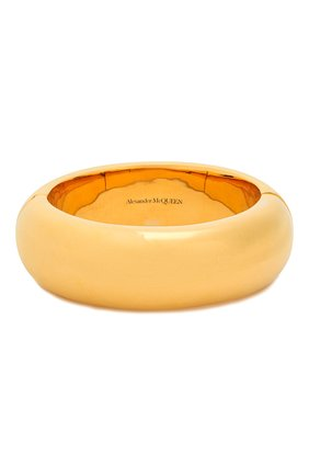 Женская браслет ALEXANDER MCQUEEN золотого цвета, арт. 610966/J160T | Фото 1