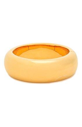 Женская браслет ALEXANDER MCQUEEN золотого цвета, арт. 610966/J160T | Фото 2