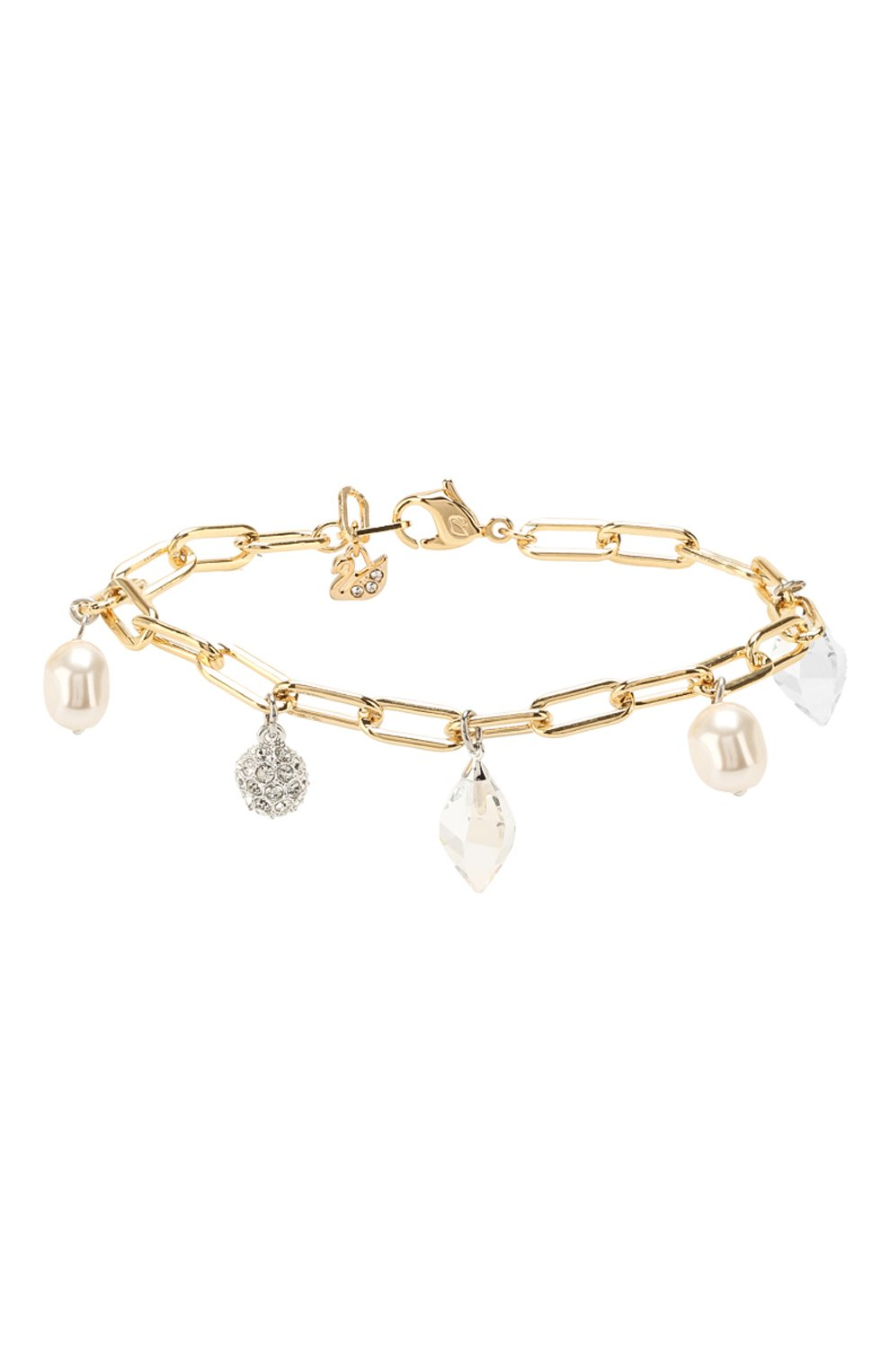 Женский браслет so cool charm SWAROVSKI золотого цвета, арт. 5522861   Фото 1
