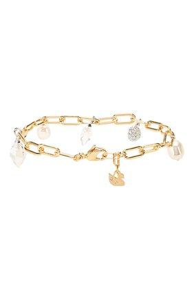 Женский браслет so cool charm SWAROVSKI золотого цвета, арт. 5522861   Фото 2