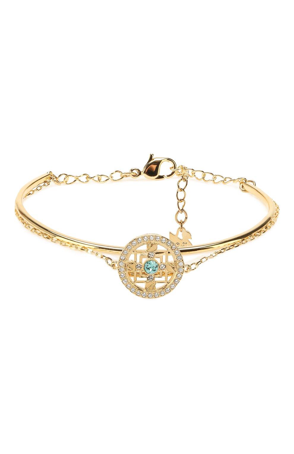 Женский браслет symbolic mandala SWAROVSKI золотого цвета, арт. 5521493   Фото 1