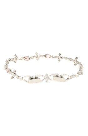 Женский браслет perfection SWAROVSKI серебряного цвета, арт. 5524544 | Фото 2