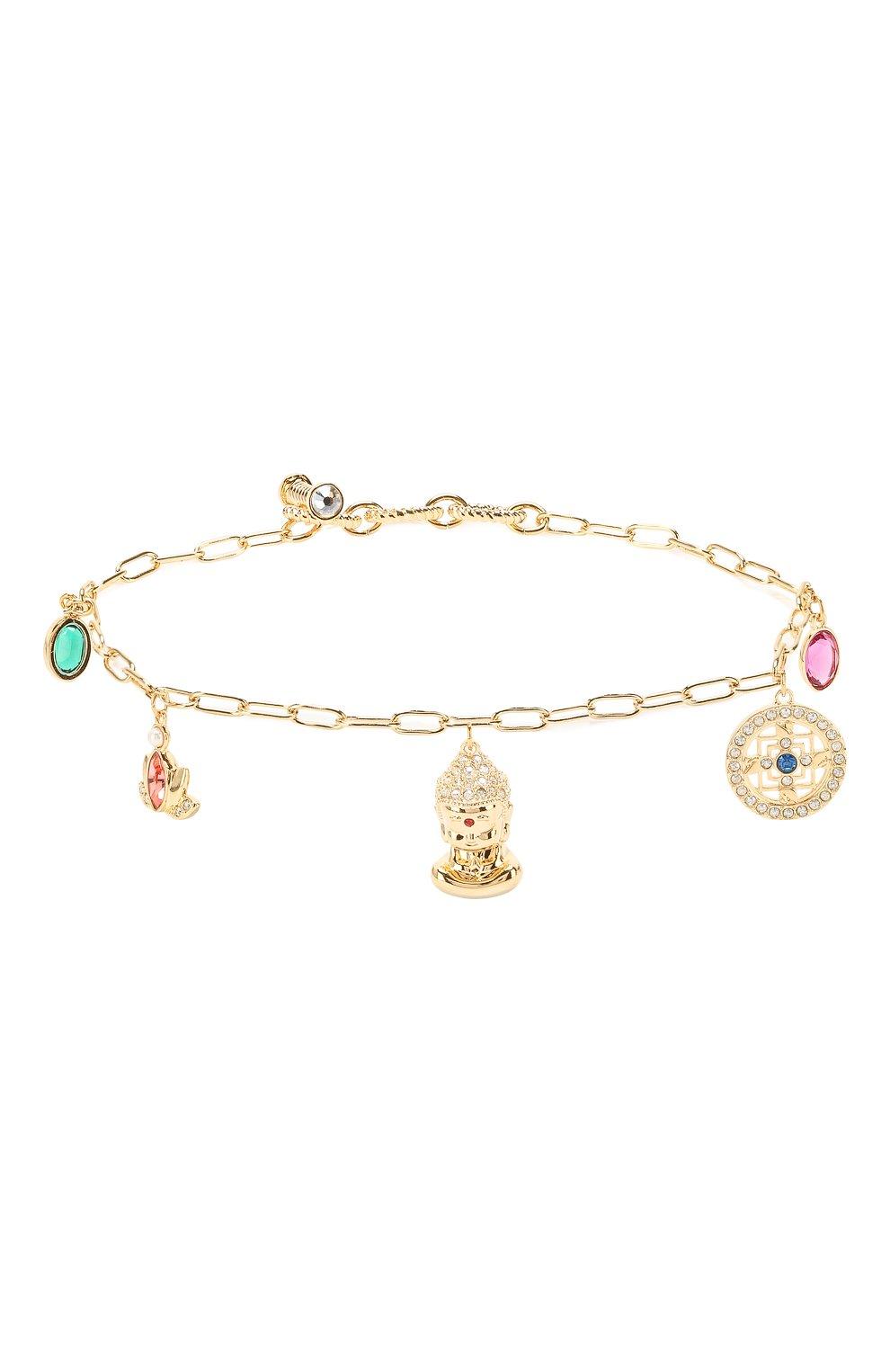Женский браслет symbolic buddha SWAROVSKI золотого цвета, арт. 5514410   Фото 1