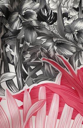 Женский шелковый платок SALVATORE FERRAGAMO розового цвета, арт. Z-0727015 | Фото 2
