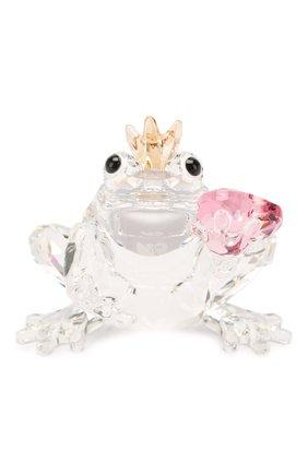 Мужского скульптура frog prince SWAROVSKI прозрачного цвета, арт. 5492224 | Фото 1
