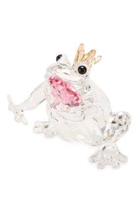 Мужского скульптура frog prince SWAROVSKI прозрачного цвета, арт. 5492224 | Фото 2