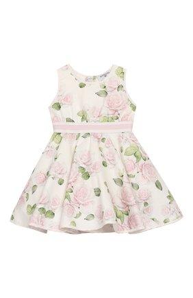 Женский платье MONNALISA розового цвета, арт. 315919 | Фото 1