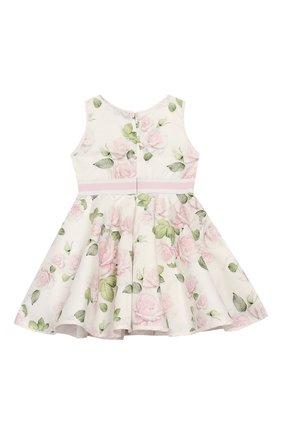 Женский платье MONNALISA розового цвета, арт. 315919 | Фото 2