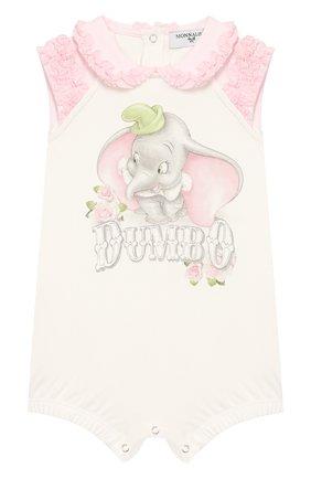 Детское песочник MONNALISA розового цвета, арт. 355216SD | Фото 1
