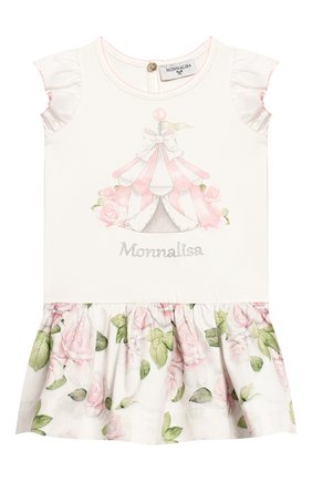 Женский платье MONNALISA розового цвета, арт. 315904SG | Фото 1