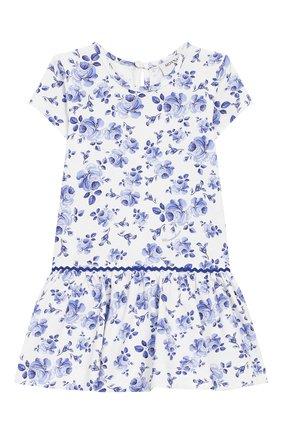 Женский платье MONNALISA голубого цвета, арт. 315915 | Фото 1