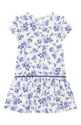 Женский платье MONNALISA голубого цвета, арт. 315915 | Фото 2