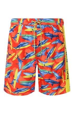 Детского плавки-шорты PAUL&SHARK оранжевого цвета, арт. E20P5033/3XL-6XL | Фото 1