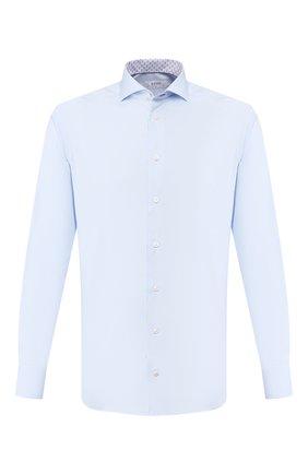 Мужская хлопковая сорочка ETON голубого цвета, арт. 1000 00978 | Фото 1