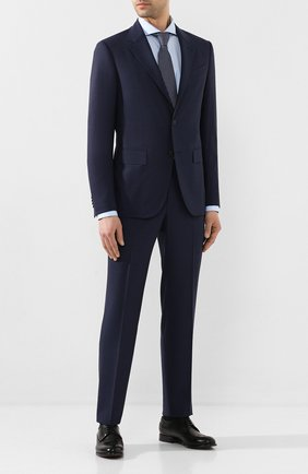 Мужская хлопковая сорочка ETON голубого цвета, арт. 1000 00978 | Фото 2