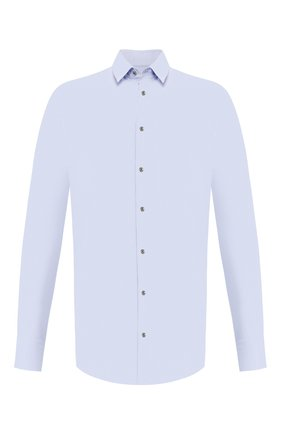 Мужская рубашка GIORGIO ARMANI голубого цвета, арт. 8WGCCZ97/JZ561   Фото 1
