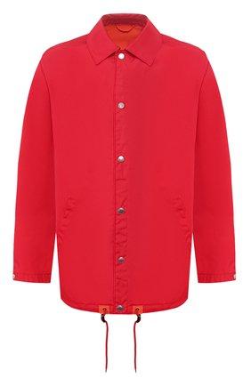 Мужская куртка KENZO красного цвета, арт. FA550U3641NK | Фото 1