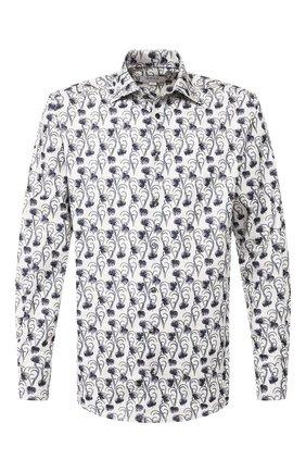 Мужская хлопковая сорочка ETON серого цвета, арт. 1000 00827   Фото 1