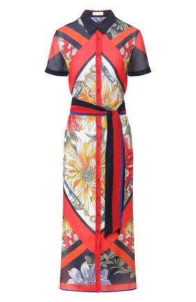 Женское платье с поясом GOTTEX разноцветного цвета, арт. 20FR393   Фото 1