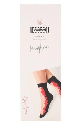 Женские капроновые носки meghan WOLFORD разноцветного цвета, арт. 48031 | Фото 1
