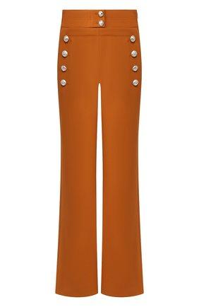 Женские шерстяные брюки CHLOÉ бежевого цвета, арт. CHC20SPA84062 | Фото 1