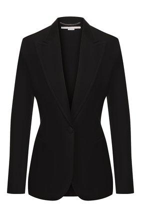 Женский шерстяной жакет STELLA MCCARTNEY черного цвета, арт. 597940/SFB18 | Фото 1