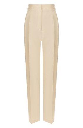 Женские шерстяные брюки JOSEPH бежевого цвета, арт. JP000877 | Фото 1
