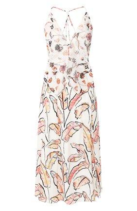 Женское платье-миди ROLAND MOURET разноцветного цвета, арт. PS20/S0871/F0405 | Фото 1
