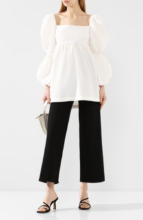 Женская хлопковая блузка REJINA PYO белого цвета, арт. C267/C0TT0N   Фото 2