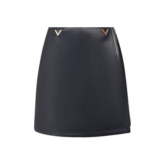 Кожаные шорты Valentino