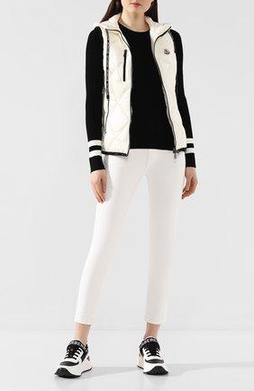 Женская пуловер из вискозы MONCLER черного цвета, арт. F1-093-9C709-00-C9027 | Фото 2