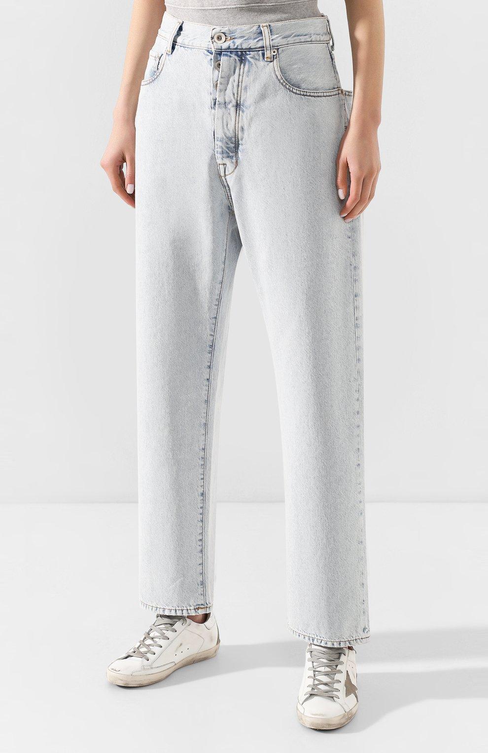 Женские джинсы BEN TAVERNITI UNRAVEL PROJECT голубого цвета, арт. UWYA005R20DEN0014500 | Фото 3