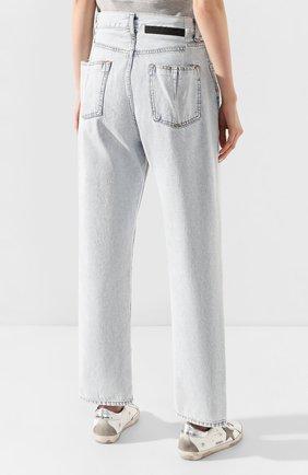 Женские джинсы BEN TAVERNITI UNRAVEL PROJECT голубого цвета, арт. UWYA005R20DEN0014500 | Фото 4