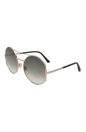 Женские солнцезащитные очки TOM FORD серого цвета, арт. TF782 28B | Фото 1