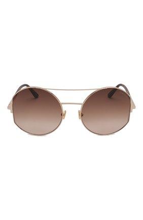 Женские солнцезащитные очки TOM FORD коричневого цвета, арт. TF782 28F | Фото 3