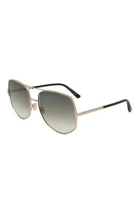 Женские солнцезащитные очки TOM FORD серого цвета, арт. TF783 28B | Фото 1