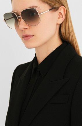 Женские солнцезащитные очки TOM FORD серого цвета, арт. TF783 28B | Фото 2