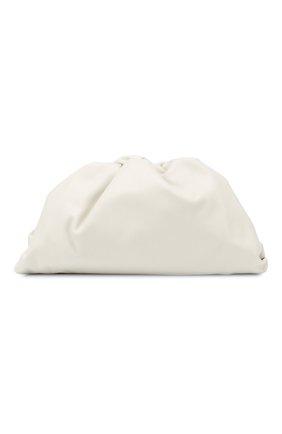 Женский клатч pouch BOTTEGA VENETA белого цвета, арт. 576227/VCP40 | Фото 1