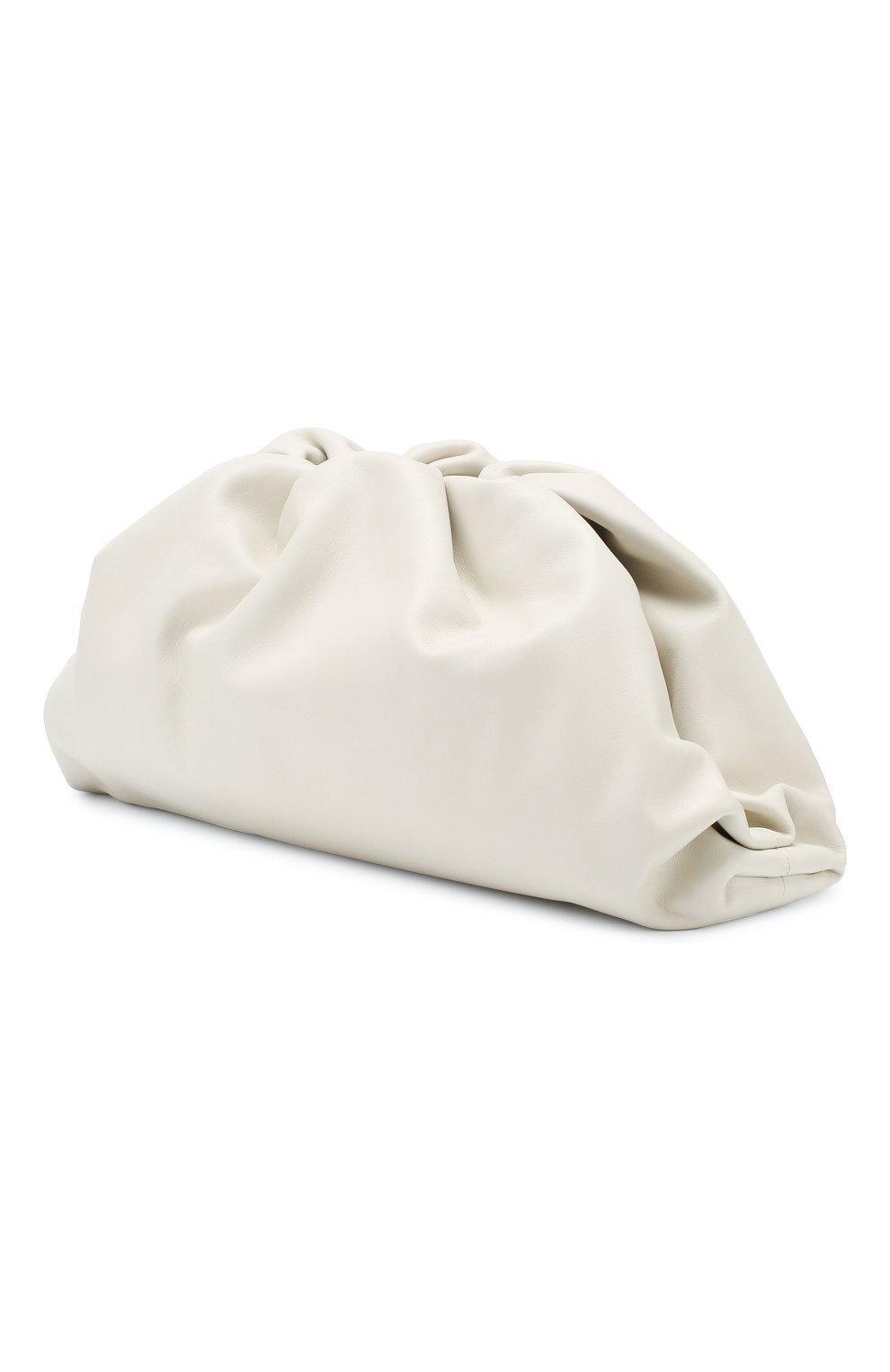 Женский клатч pouch BOTTEGA VENETA белого цвета, арт. 576227/VCP40   Фото 3