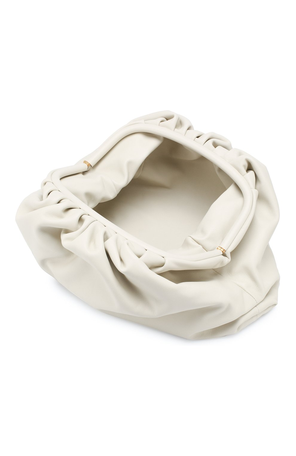 Женский клатч pouch BOTTEGA VENETA белого цвета, арт. 576227/VCP40   Фото 4