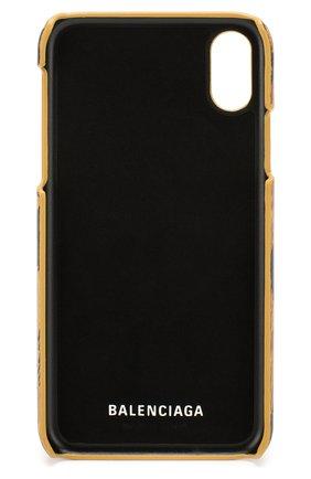 Мужской чехол для iphone x/xs BALENCIAGA бежевого цвета, арт. 585828/1BWJ0 | Фото 2
