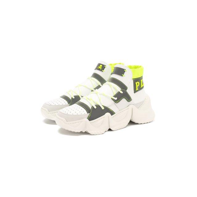 Кожаные кроссовки Philipp Plein — Кожаные кроссовки