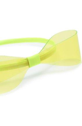 Детского ободок SIMONETTA светло-зеленого цвета, арт. 1M0057/MX320   Фото 3 (Материал: Текстиль)