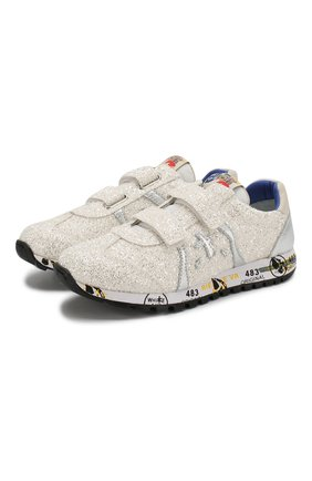 Детские кроссовки PREMIATA WILL BE белого цвета, арт. LUCY V/1221/JUN | Фото 1